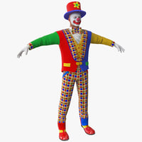 Clown 2 Rigged