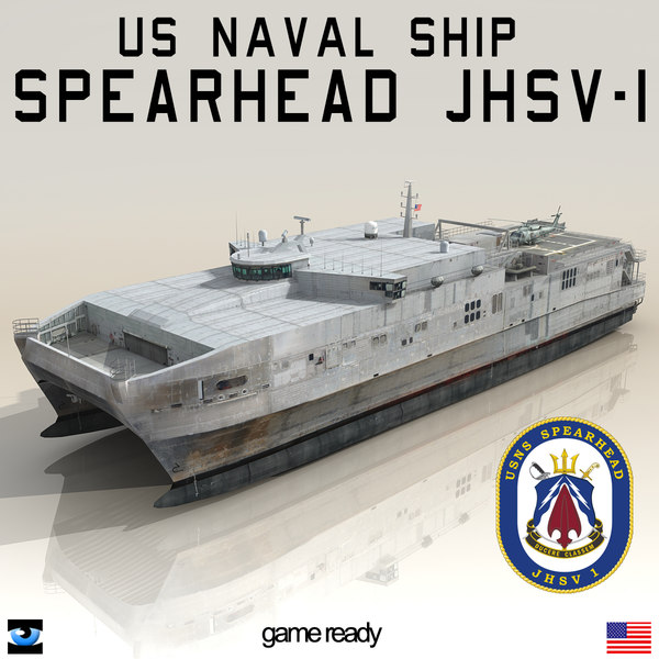 usns spearhead jhsv-1 3d 3ds