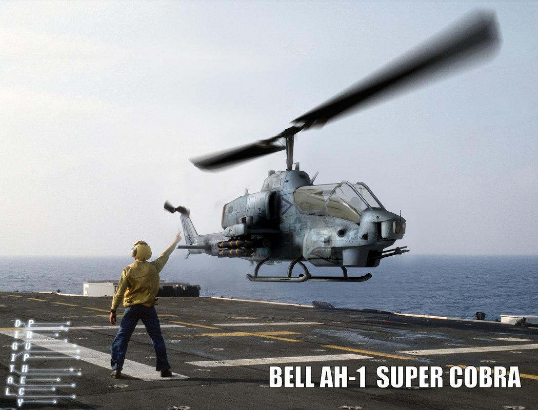 3d bell ah-1 super cobra