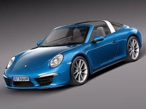 2015 porsche 911 3d model