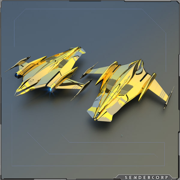 super cruiser 3d model