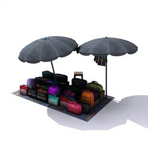 3d model indian shop