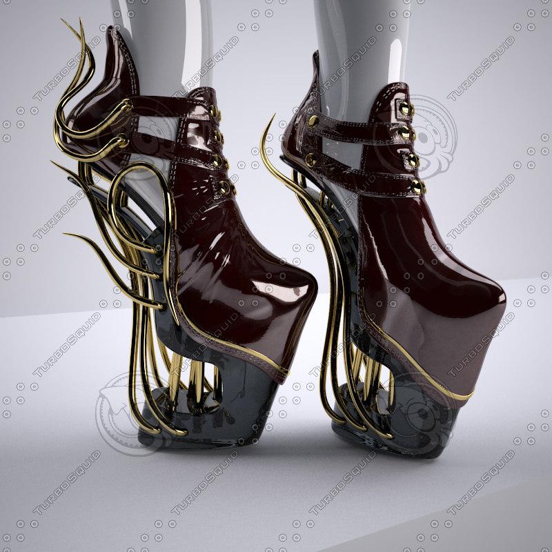 max heels shoe female