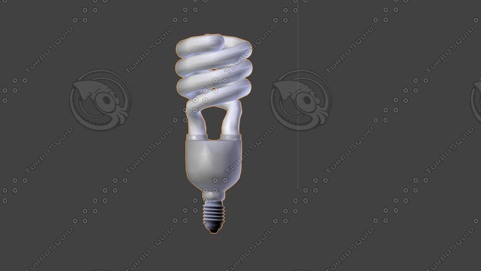 lamp neon 3d model