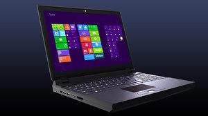 laptop computer realistic 3d obj