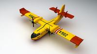 3d model canadair cl-415