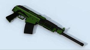 free 3ds mode vepr 12 gauge shotgun