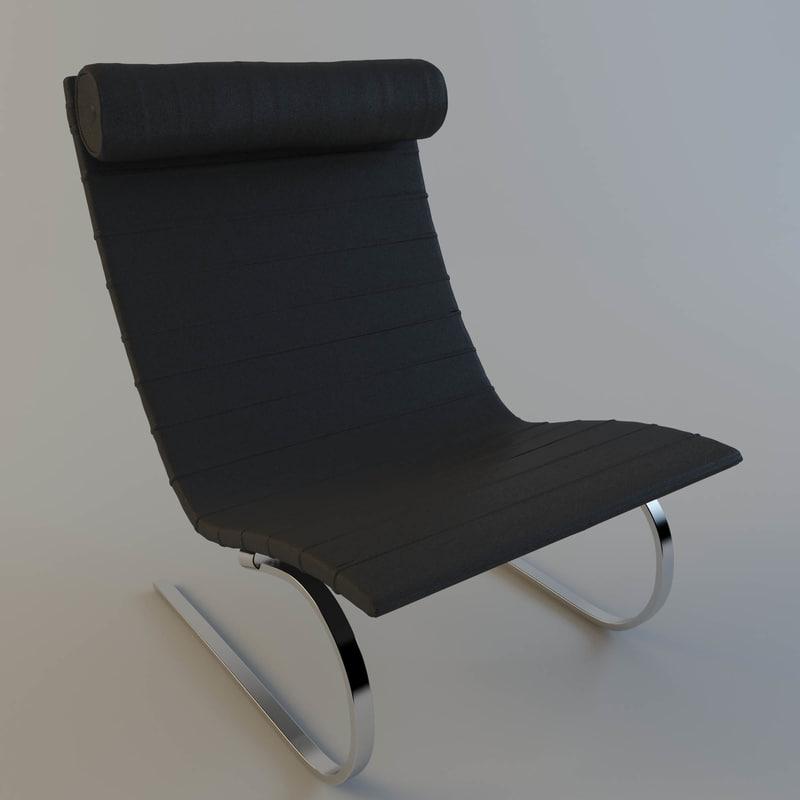 max chair poul kjaerholm pk20