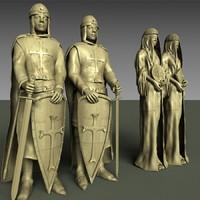 temple guardian 3d model