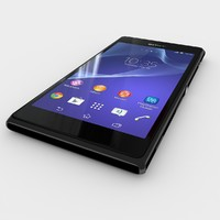 sony xperia m2 3d model