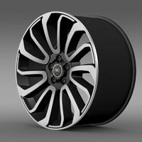 RangeRover V8 rim
