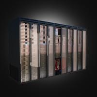 3d model server racks