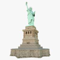 liberty libe 3d model