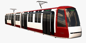 3d tram city