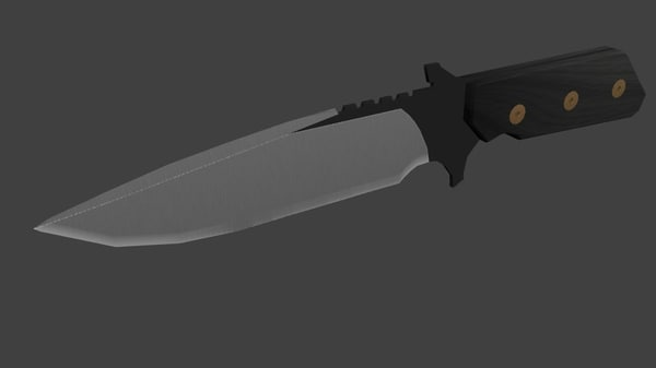 free obj mode knife