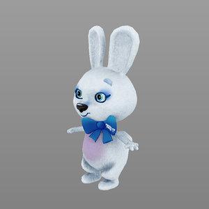 3d mascot winter olympics sochi model