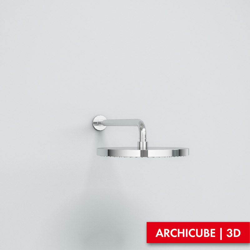shower showerhead 3d max