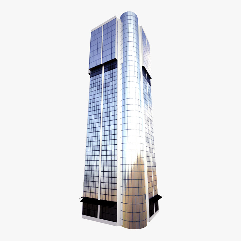 skyscraper eurotheum 3d 3ds