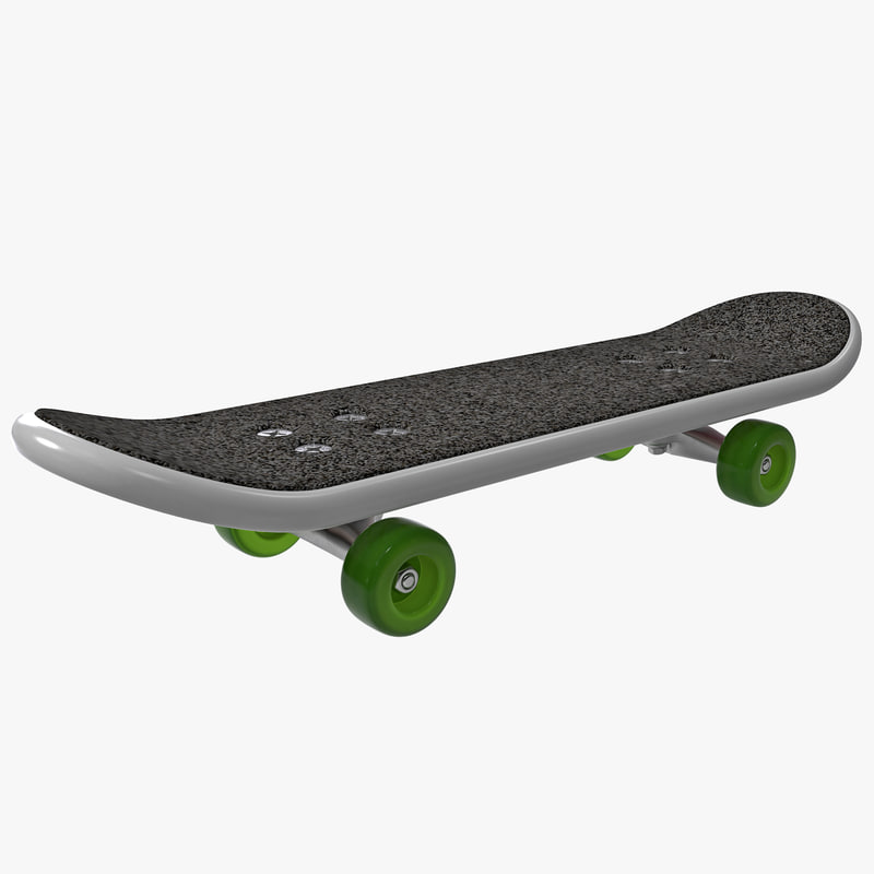 3d finger skateboard