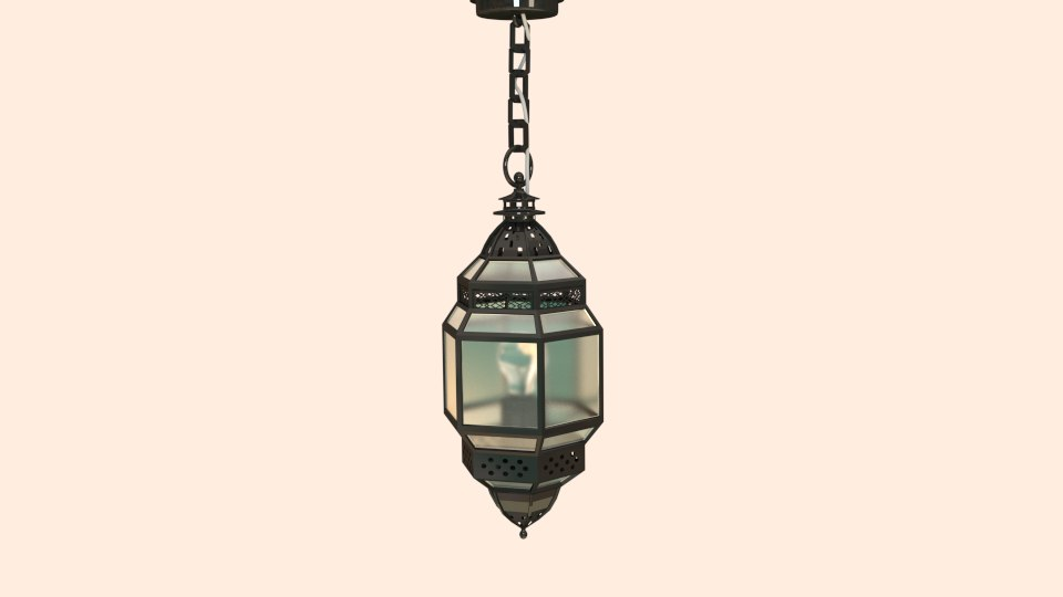 arabic lustre 3d model