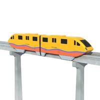 monorail rail mono 3d max