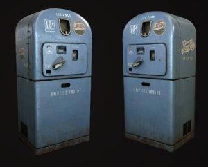 3dsmax pepsi vending machine vintage