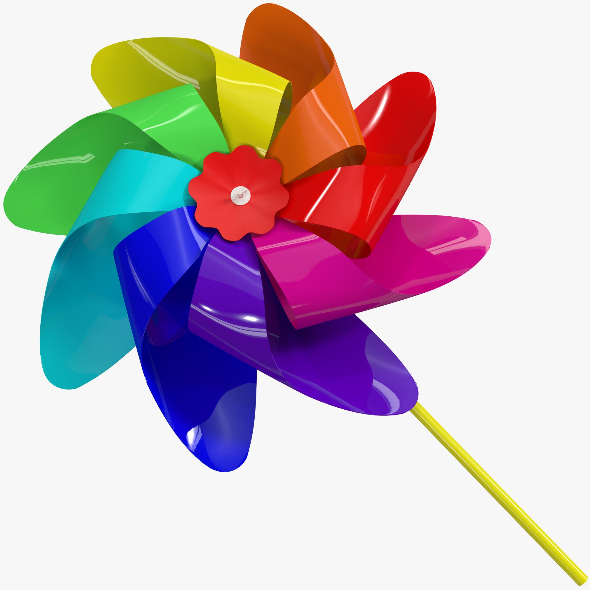 pinwheel 3d max
