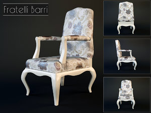 3d chair modeled v-ray