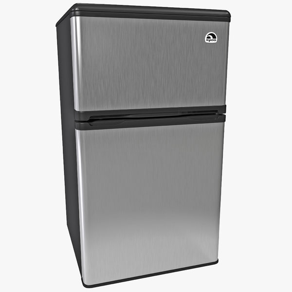 3d model refrigerator freezer igloo