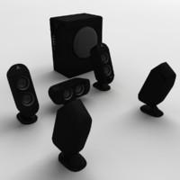 3ds 5 speakers pc