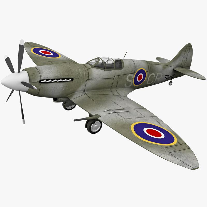 lightwave supermarine spitfire british fighter aircraft