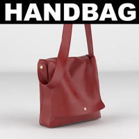 3d bag handbag model