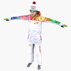 realistic sochi 2014 olympic 3d model