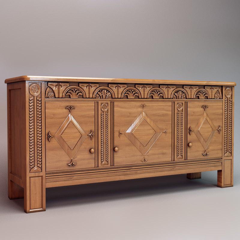 max oriental classic sideboard