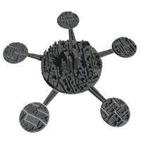 3d model of sci fi city m-01