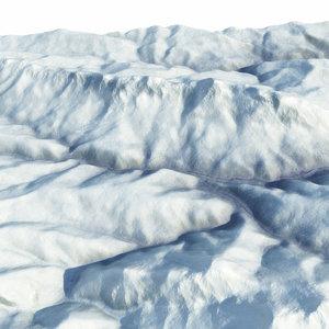 mountain cluster sochi 2014 3d max