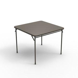 3d card table model