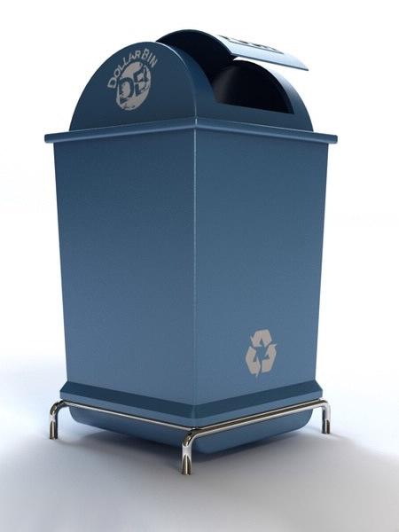 dustbin bin 3ds