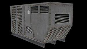 air cooling unit 3d model