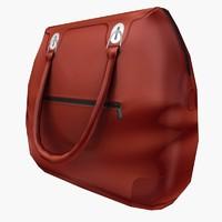 3d hand bag model