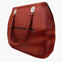 Hand bag Low Poly 06