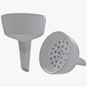 buchner funnel 3d max