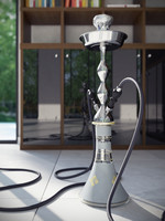 MYA Hookah with foil and charcoal