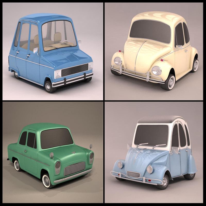 cartoon car max