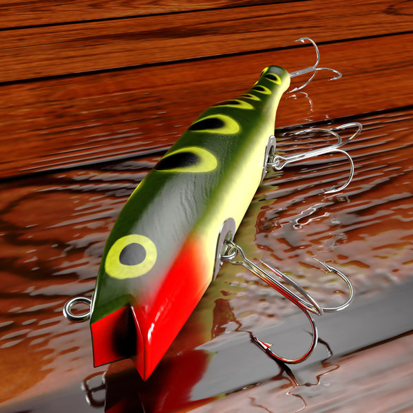 3d creek chub darter lure