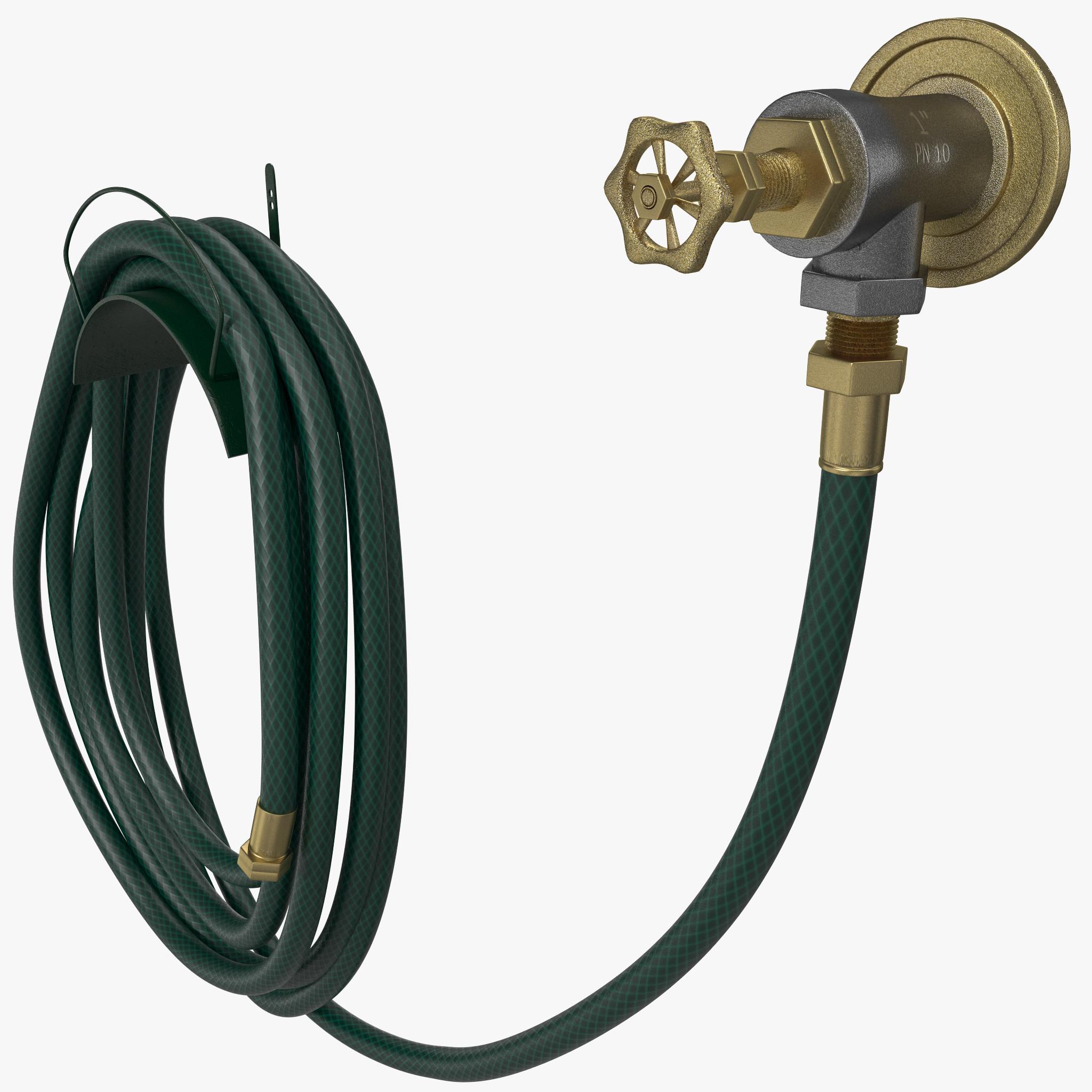 3dsmax garden hose