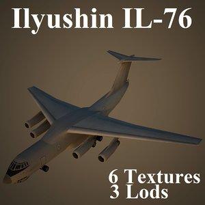 yushin low-poly 3d model