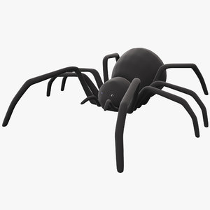 radio controlled black widow 3d model