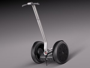 3d usa segway i2 model