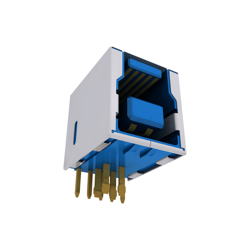 usb connector 3 typ 3ds
